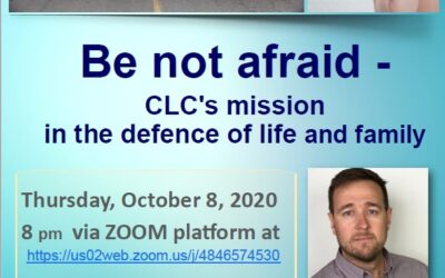 Invitation to lecture by Mateusz Wojciechowski, VP CLC on Thursday, October 8, 2020, 8 pm via Zoom