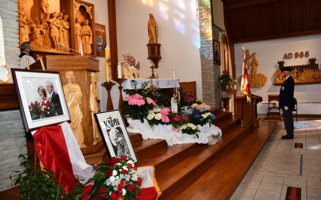Komunikat #10 – 81-sza Rocznica Zbrodni Katyńskiej i 11-ta Rocznica Tragedii Smoleńskiej; Uroczystości w Ottawie 10-11 kwietnia 2021