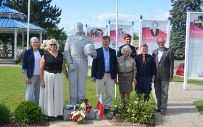 Uroczystości z okazji 77. rocznicy Bitwy pod Falaise i 101. rocznicy Bitwy Warszawskiej 14-15 sierpnia 2021 na Kaszubach Ontaryjskich