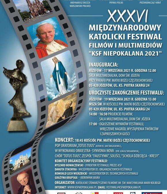 Zapraszamy na Festiwal KSF Niepokalana 2021 i Festiwal Polonijny Losy Polaków